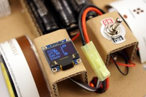 OpenBot switch and OLED display