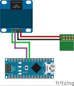 OLED-Display wiring