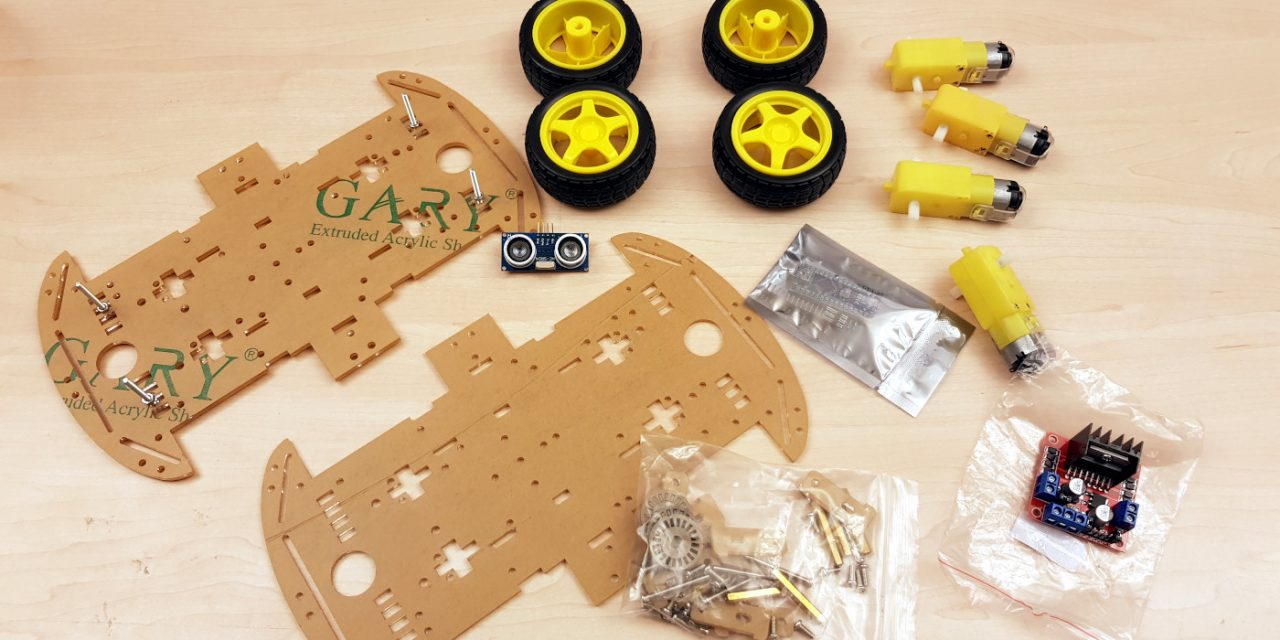 OpenBot – Your smartphone controls a robot car – needed parts part 1-2