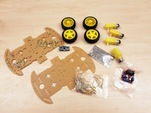 OpenBot chassis build 4WD Smart Car