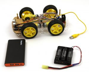 OpenBot chassis build electronics