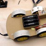 OpenBot - Dein Smartphone steuert ein Roboter Auto - Chassis bauen