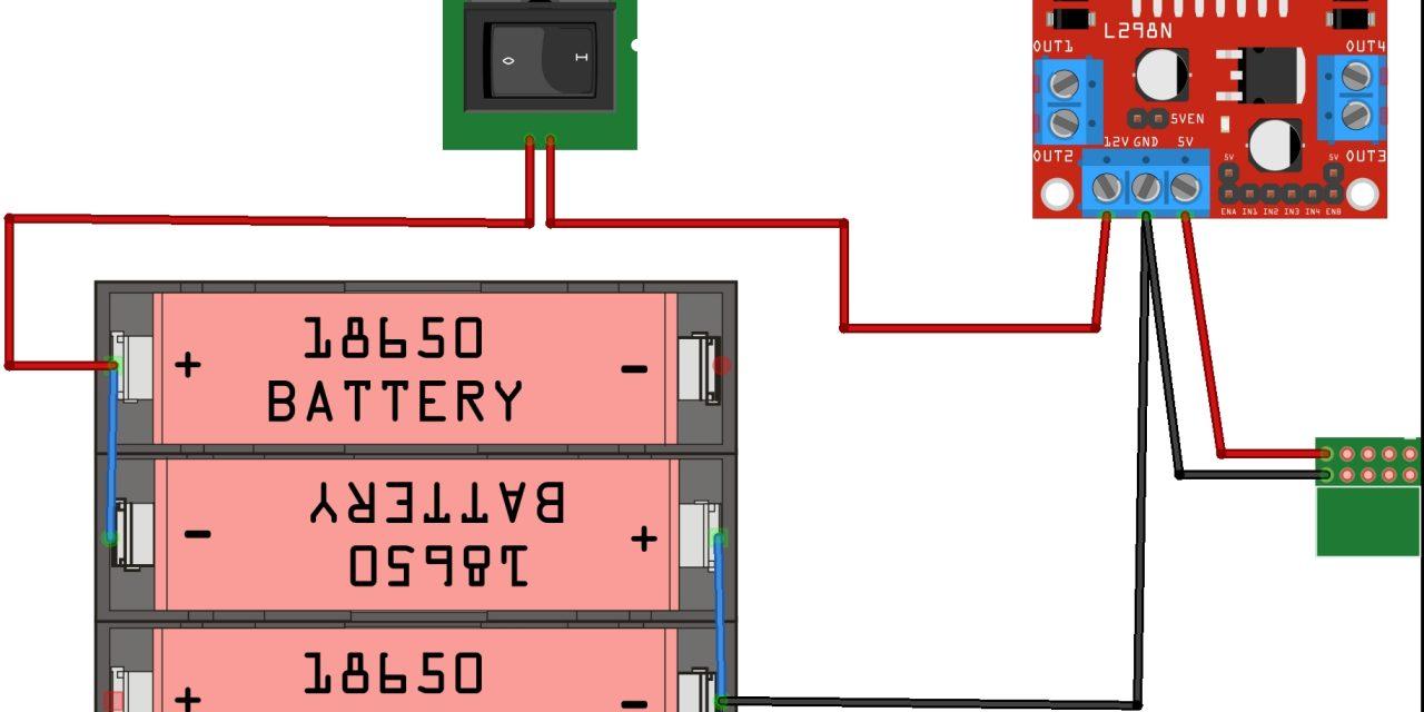 OpenBot – Dein Smartphone steuert ein Roboter Auto – Verkabelung