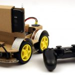 OpenBot - Your smartphone controls a robot car - constructing a chassis