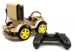 OpenBot ready to run PS4 controller