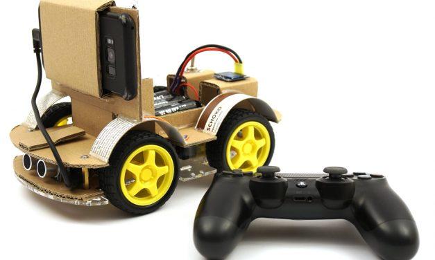 OpenBot – Dein Smartphone steuert ein Roboter Auto – die eigene OpenBot Android App erstellen