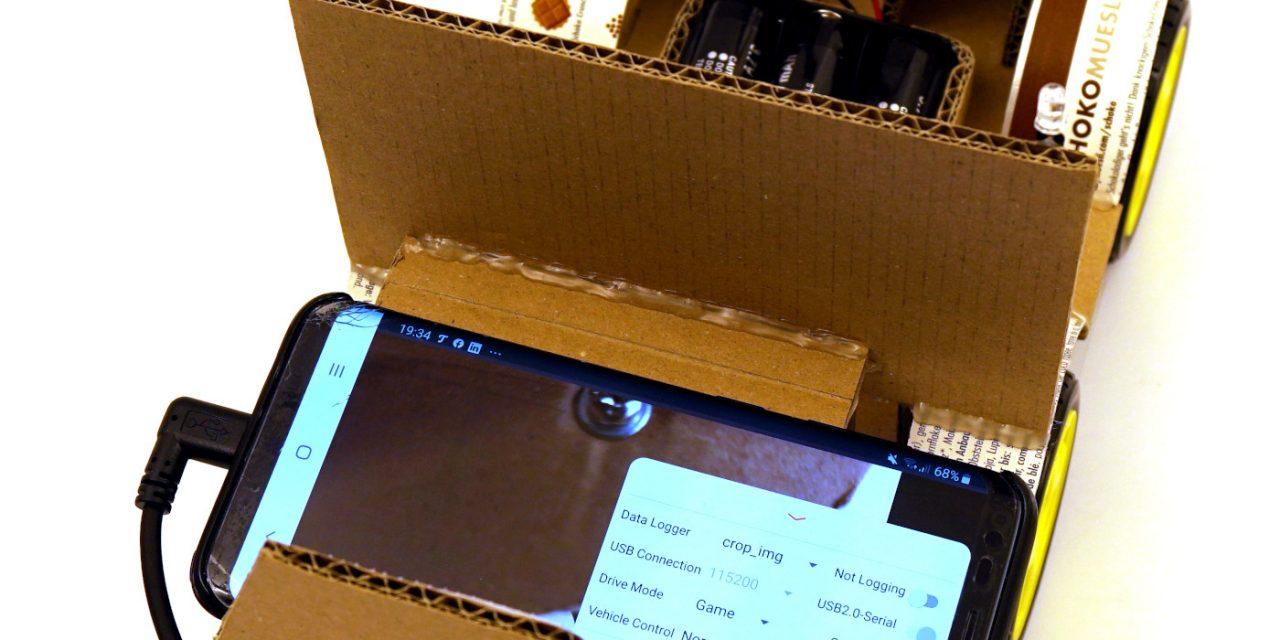 OpenBot – Dein Smartphone steuert ein Roboter Auto – Android Studio und Smartphone einrichten