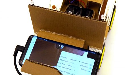 OpenBot – Your smartphone controls a robot car – Android App and first test run