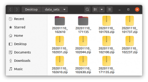OpenBot training data folder