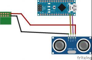 OpenBot ultrasonic sensor